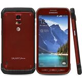 Samsung Galaxy S5 Active SM-G870A  4G LTE 16GB Ruby Red (Unlocked) Smartphone LN