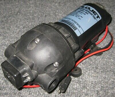 Flojet 3000 Series On Demand Spray Pump W Switch - 12 Vdc - 8 A - 60 Psi - 2 Gpm