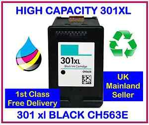 HP-301XL-Black-INK-CARTRIDGE-for-Deskjet-1000-1050-1050a-2000-2050-PRINTERS