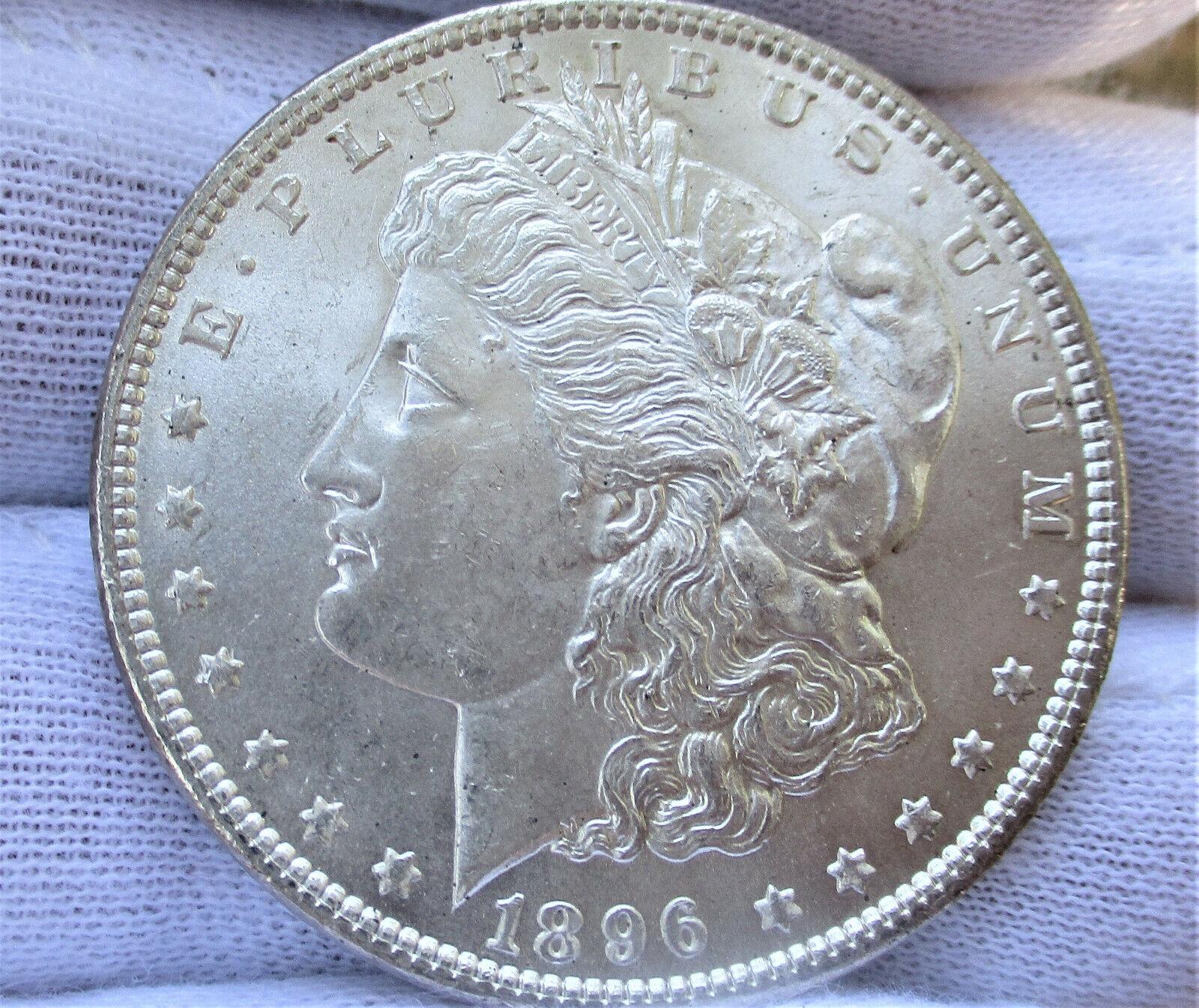 1896 MORGAN SILVER DOLLAR  - $59.99