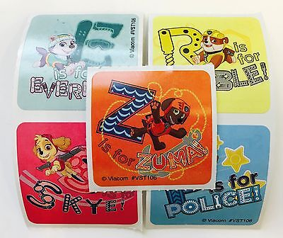 25 Paw Patrol Pets Stickers Party Favors Teacher Supply Jake Chase Skye Rubble - Paw Patrol Party Supplies