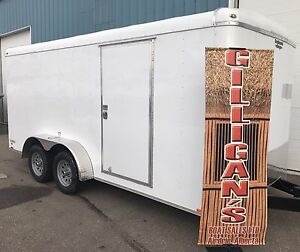 2017 CONTINENTAL CARGO TRAILER  7 X 16 FT