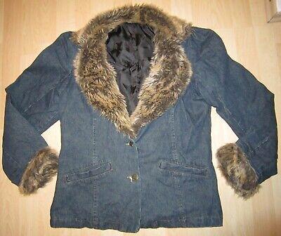 Jeansjacken Pelz gebraucht kaufen! Nur 3 St. bis 65% günstiger