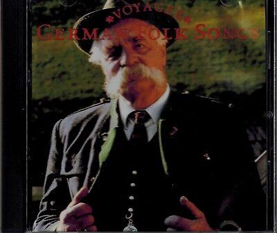 VOYAGER - GERMAN FOLK SONGS - MINT CD ()