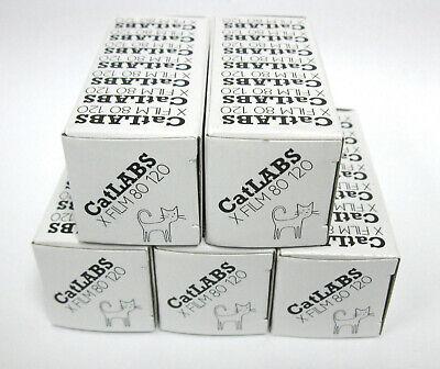 5 Rolls CatLABS X 80 B&W Medium Format 120 Film ISO 80 Black and White