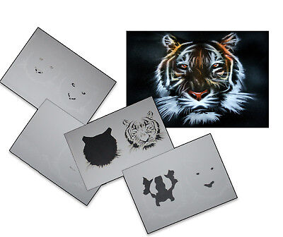 Step by Step Stencil ~~ UMR Airbrush Schablone AS-033 M