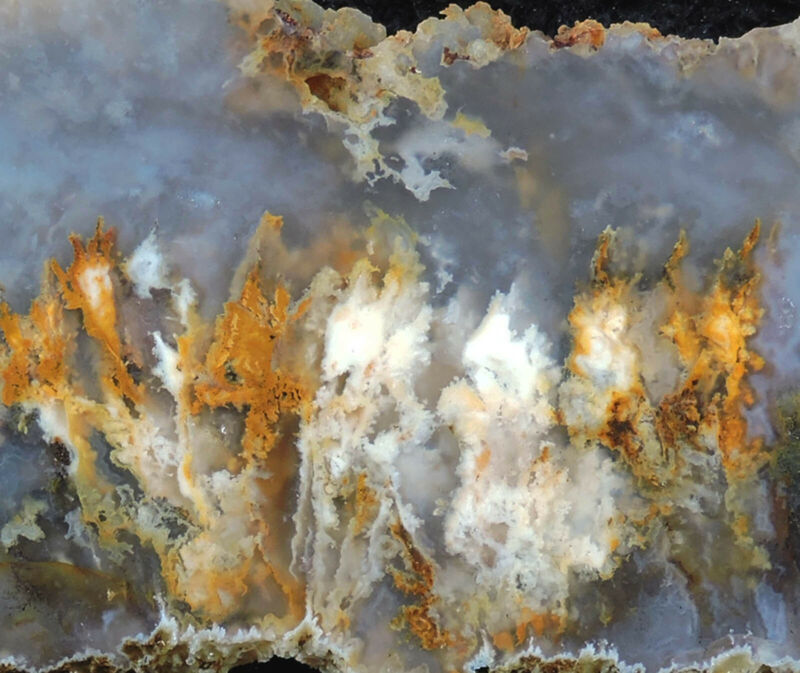 SSNW PINK LADY PLUME AGATE SLABS ~ gorgeous cabbing slices ~ fresh diggin