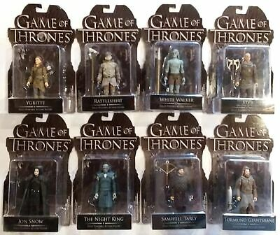 FUNKO HBO GAME OF THRONES REACTION FIGURES SET OF 8 NEW