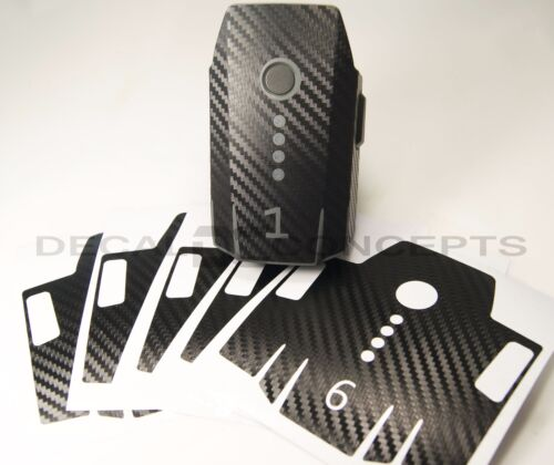 DJI Mavic Carbon Fiber Battery 1-6 Skin Stickers Graphic Wrap Decal 1 2 3 Pro