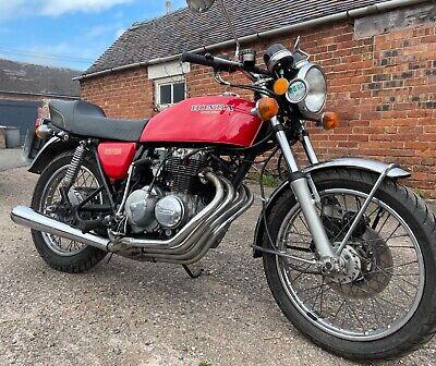 1977 Honda 400/4 Cb400 four classic Uk bike Tax Mot exempt cb400f No Reserve 400