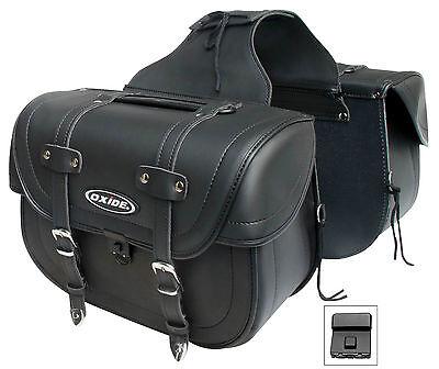 Oxide Grande Motorbike Saddle Bags, 2 x 20L Panniers
