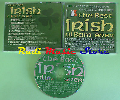 CD BEST IRISH ALBUM EVER compilation DUBLINERS POGUES VAN MORRISON