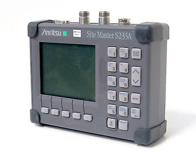 Anritsu S235a5 Site Master 1250 To 2350 Mhz - With Rf Watt Meter Power Monitor