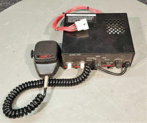CODE 3 V-CON MODEL 3962 RADIO / PA
