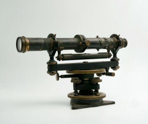 Vintage K&E Keuffel & Esser Paragon Brass Surveyor Equipment