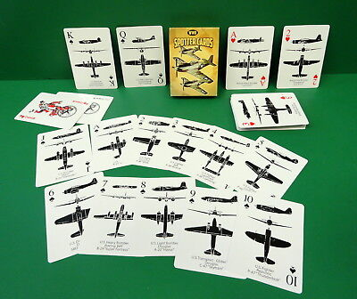 AIRCRAFT RECOGNITION SPOTTER CARDS- ALLIED/AXIS AIRCRAFT