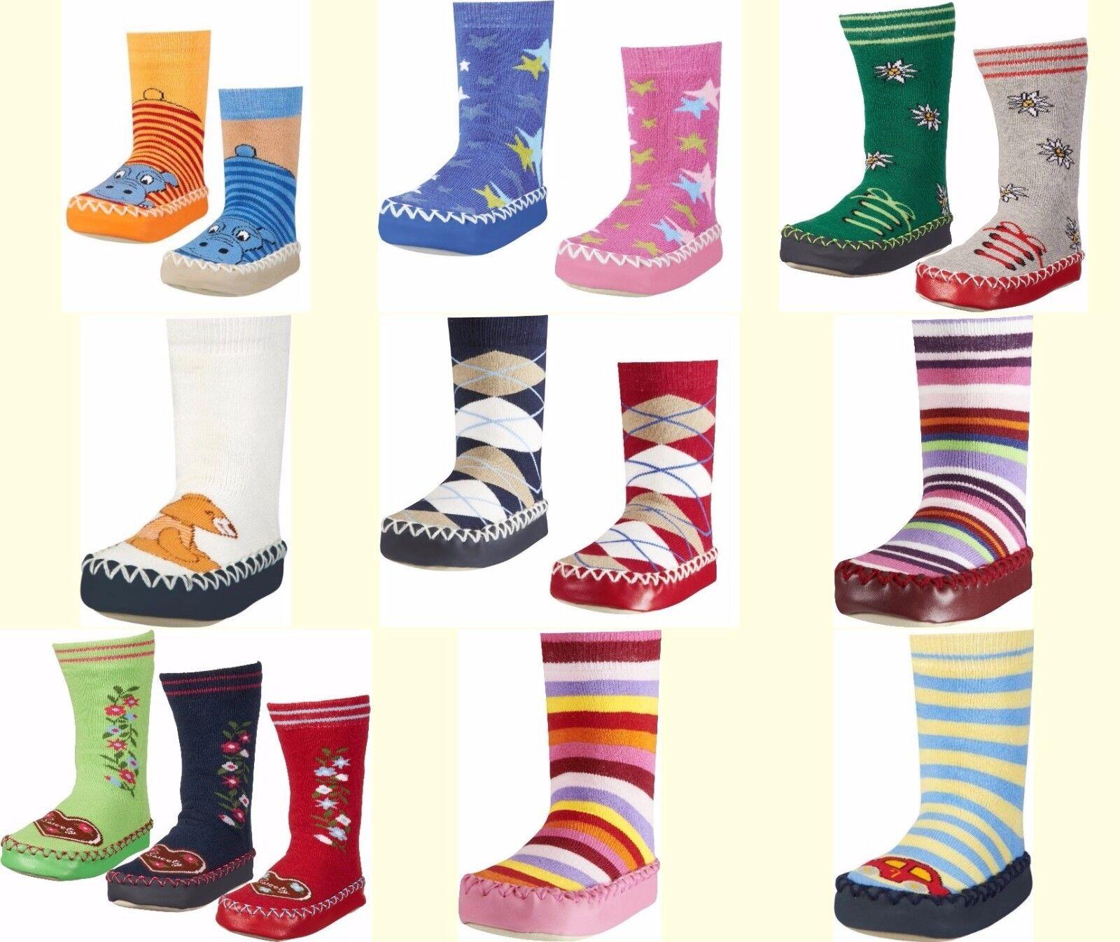 Playshoes Baby Kinder Hüttenschuhe Hausschuhe Socke Schuhe Mädchen Jungen 17-34