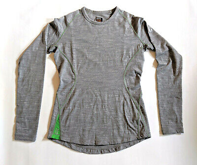 Icebreaker 200 Base Layer 100% Merino Wool Athletic Outdoor Women's XS
