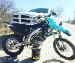 2007 Honda CRF450r With Teal and Ownership!