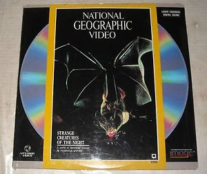 SEALED TV SPECIAL LASERDISC 1988 NATIONAL GEOGRAPHIC VIDEO STRANGE CREATURES