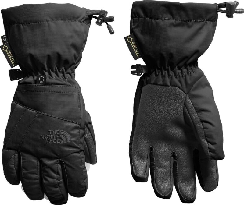The North Face Youth Montana Gore-Tex Gloves TNF Black M New