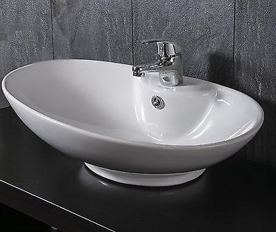 DESIGN KERAMIK WASCHSCHALE AUFSATZ WASCHBECKEN WASCHTISCH Waschplatz Badmöbel !!