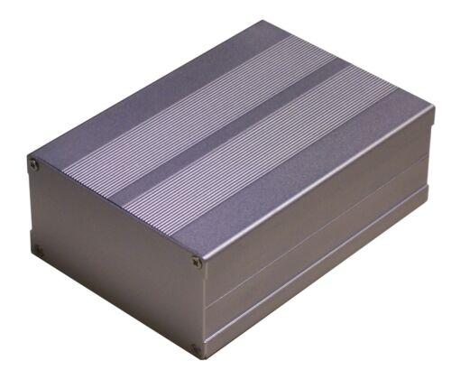 Silver Aluminum Project Box Enclosure Case Electronic DIY 153x105x55mm-Medium