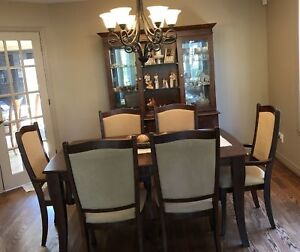 Dining Room Table, shut him and chairs