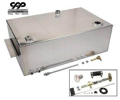 67 72 CHEVY C10 1/2 TON TRUCK 18 GALLON ALUMINUM FUEL GAS TANK WITH INSTALL KIT