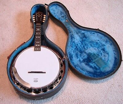 The Gibson Mandolin Banjo Banjolin MB Excellent Vintage Condition Rare #62