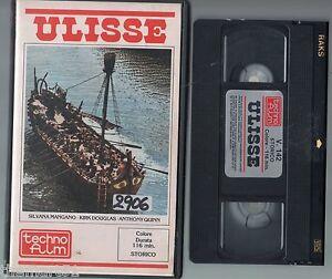 Ulisse-1954-VHS-Tecno-Film-1a-Ed-Douglas-Mangano-Podesta-Camerini