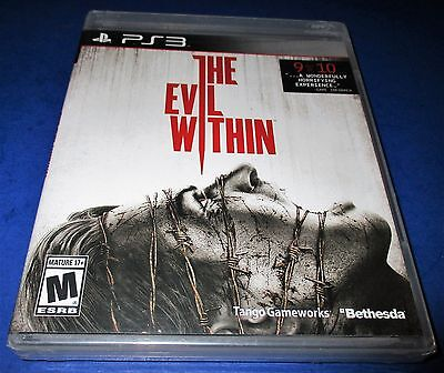 The Evil Within Sony PlayStation 3 *Factory Sealed! *Free Shipping!
