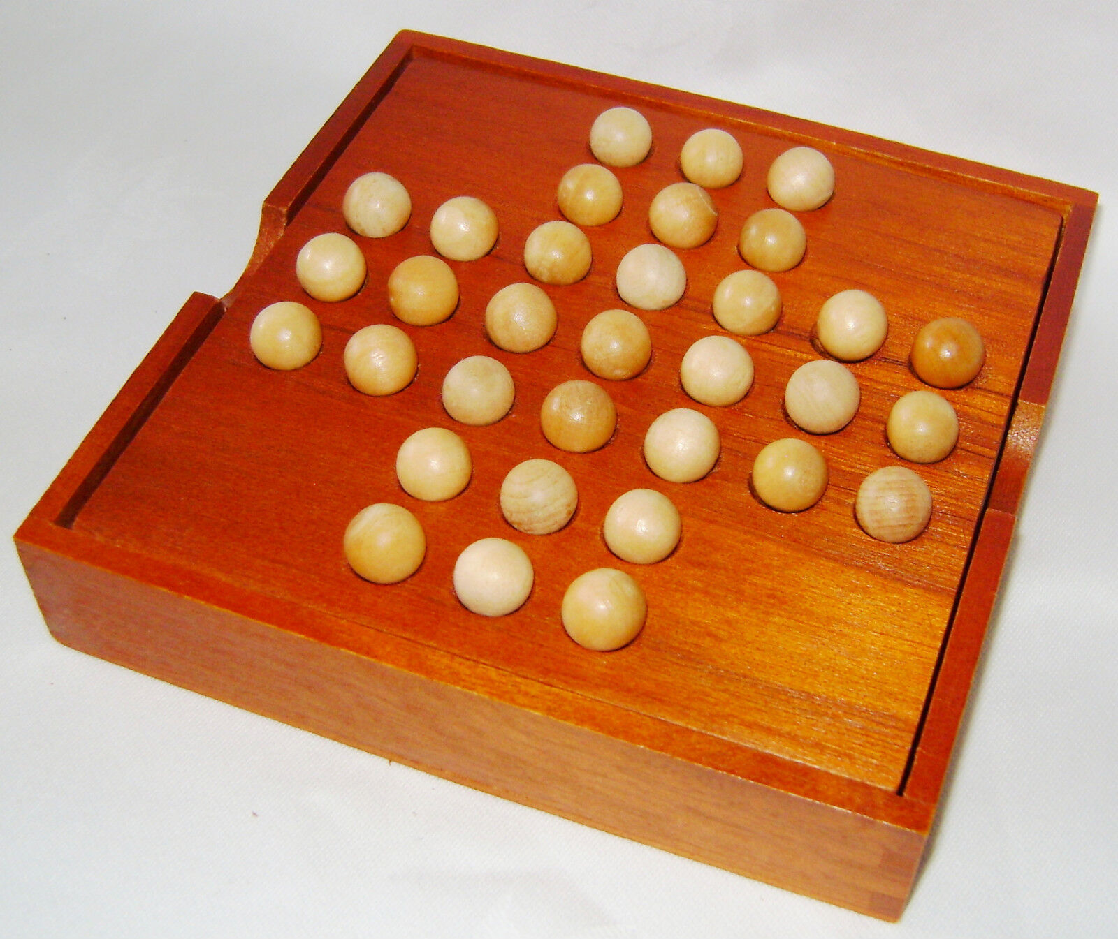 Board with recesses