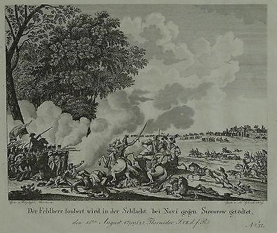 J. Duplessis-Bertaux (ca. 1747- ca. 1820) - Der Feldherr Joubert Stich 1819