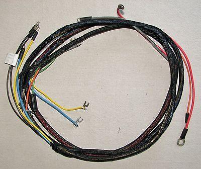 Ih Farmall 450 Diesel Main Wiring Harness 366454r91