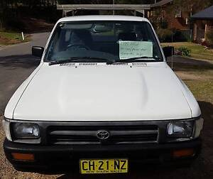 1995 Toyota Hilux Ute Rathmines Lake Macquarie Area Preview