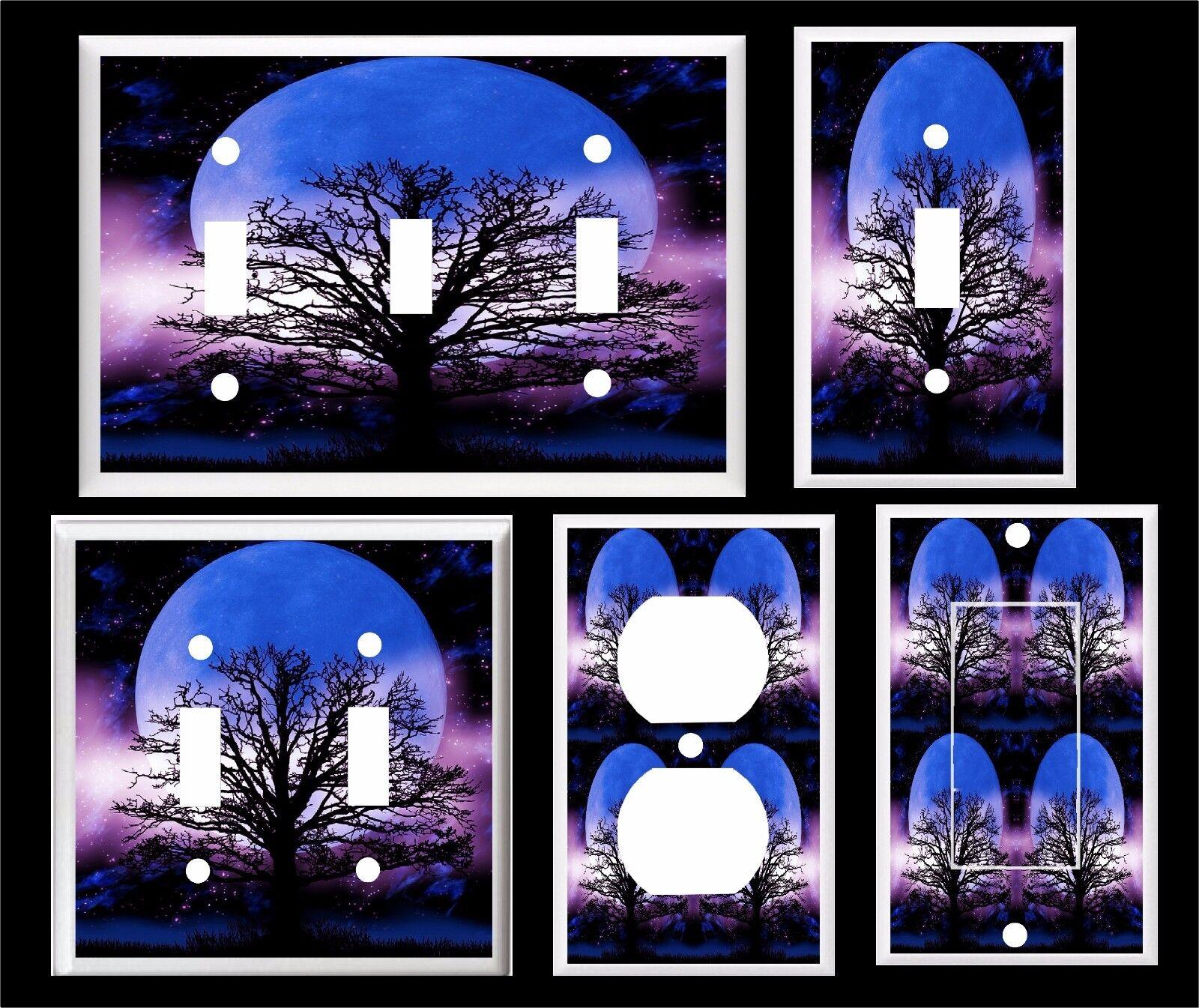 blue moon purple night tree of life