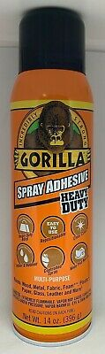 Gorilla Heavy Duty Spray Adhesive Multipurpose And Repositionable 14 Ounce