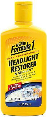 Formula 1 Headlamp Headlight Lens Restorer & Sealant Polish Scratch Remover