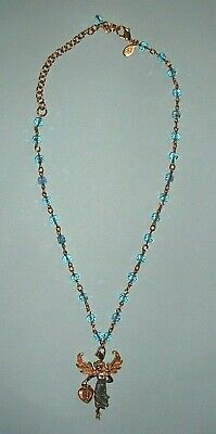 ATTRACTIVE KIRKS FOLLY NECKLACE WITH PENDANT