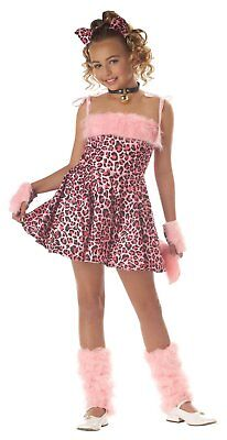Purrty Kitty Child Girl Deluxe Costume, Size Extra Small - FREE - Purrty Kitty Child Costume