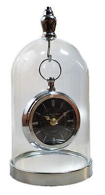 Tischuhr glocke Kaminuhr Uhr Jahresuhr Domuhr Dom Glasglocke Drehpendeluhr Neu