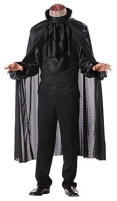 Headless Horseman Dark Classic Horror Men Adult Costume](Classic Horror Costumes)