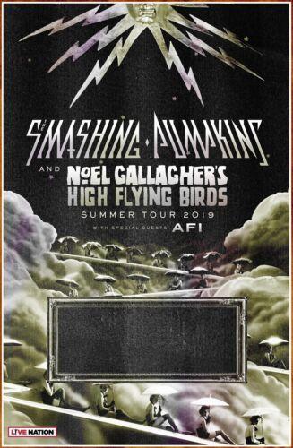 SMASHING PUMPKINS   NOEL GALLAGHER   AFI Summer Tour 2019 Ltd Ed New RARE Poster