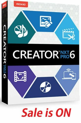 Roxio Creator NXT Pro 6 Version Lifetime License Fast Dispatch Trusted