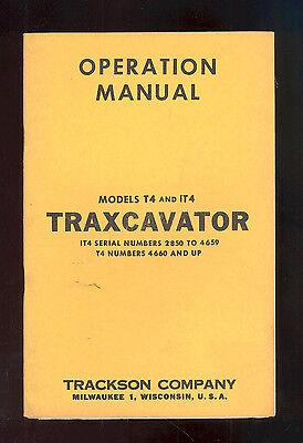 Caterpillar T4 It4 Traxcavator Bulldozer Operation Manual