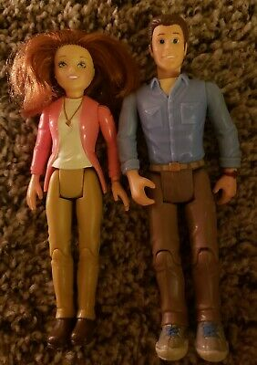 Fisher Price Loving Family Dollhouse Mom and Dad Parents Figures