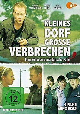 Kleines Dorf - Große Verbrechen - Finn Zehenders mörderische Fälle NEU 2 DVDs Kleines Dorf