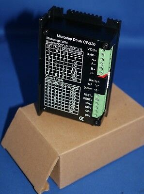 New 24v36vdc 0.9a3.0a Stepper Motor Controller Cw230 Microstep Driver Cw 230