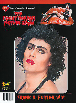 Frank N Furter Wig Rocky Horror Show Fancy Dress Party Halloween